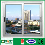 Schiebendes Aluminiumfenster mit doppeltem ausgeglichenem glasierendem Pnoc0012slw