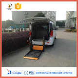 Beweglicher elektrischer &Hydraulic Aufzug des Rollstuhl-720*1150 (WL-D-880)