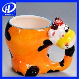 подарок рождества кружки офиса чашки чая кружки кофеего кружки молока шаржа 420ml керамический милый