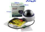 câmera do IP do IR da abóbada da lente de 1.3MP 2.8-12mm
