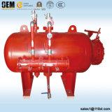 消火活動の泡システムのための水平の泡タンク