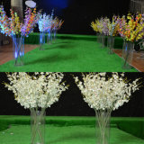 Vase floral à cylindre de noce acrylique