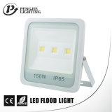 Überlegenes Sanan Chip-Cer, RoHS 150W quadratische Form PFEILER Flutlichtbeleuchtung-Vorrichtung