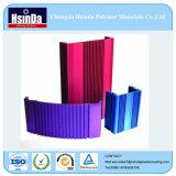 Rivestimento a resina epossidica di alluminio della polvere del poliestere del campione libero per il portello/finestra/rete fissa