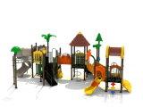 114mm 직류 전기를 통한 포스트 다채로운 아이들 옥외 운동장 장비