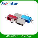 mini azionamento dell'istantaneo del USB del telefono del disco OTG del USB della parte girevole 128g