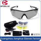 高品質の屋外ガラスのまわりの新しい2017の熱い販売の方法スポーツのサングラスの覆い