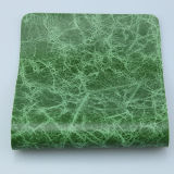 Cuero de imitación de la PU de la tapicería de la alta calidad para el sofá (F8002)
