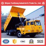 Camion à benne basculante lourd d'exploitation de mine lourde de Vehicules Dumpers/6X4 de mines d'or de la Chine Dongfeng