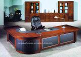 Glatter Furnier-Blattbüro-Möbel-leitende Stellung-Tisch (HX-RD3126)