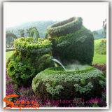 Herbe artificielle topiaire d'usine de cerfs communs de Sika de décoration de jardin