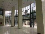 Superficie de mármol artificial del cilindro de Materical del edificio