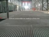 Reja moldeada FRP/GRP/reja de la fibra de vidrio/Anti-ULTRAVIOLETA