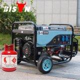 Type neuf de bison (Chine) BS6500p générateur à la maison de puissance de sortie réel refroidi à l'air de biogaz de Portbale d'utilisation de 5kw 5000W 5kVA à vendre