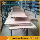 Chaîne de production en plastique de profil de panneau de plafond de PVC