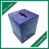 プラスチックハンドルのボール紙のペーパー荷箱