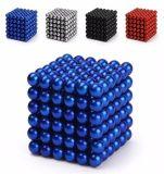 Paquete de bola magnética 216pcs Caja De Hierro