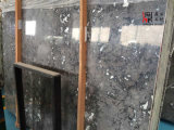Marbre en pierre normal de gris fumeux de qualité pour la décoration de construction