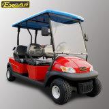 4 тележки гольфа Seater управляемых батареей