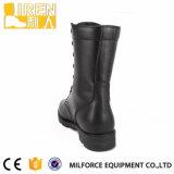 De volledige Laarzen van het Gevecht van het Leer Zwarte Militaire met Uitstekende kwaliteit