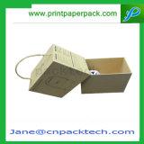 Appareils électriques de papier enduit de maison faite sur commande d'impression offset empaquetant le cadre de présentation électrique de caisse d'emballage de produits