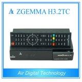 세계적인 유효한 HDTV 상자 Zgemma H3.2tc 리눅스 OS Enigma2 DVB-S2 토요일 Tuner+2xdvb-T2/C는 조율사 이중으로 한다