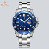贅沢なデザインカスタムロゴの腕時計、Micの二重Calendar72818の安い価格の腕時計