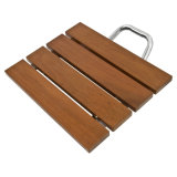 Asiento de ducha plegable Banco Asiento de baño de construcción de madera maciza