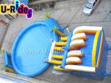 Altura em 1,5 m de piscina inflável redonda