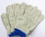 Белым перчатка руки перчатки работы хлопка цвета смешанная полиэфиром