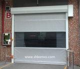 Puerta Rápida Rápida de Alta Velocidad del Obturador del Rodillo de la Tela del PVC del Almacén Frío