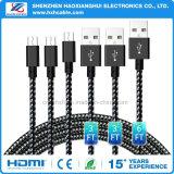 USB High Speed 2.0 к микро- зарядным кабелям USB для телефона Samsung