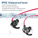 Écouteur sans fil de Bluetooth de dans-Oreille de fonction de sport imperméable à l'eau magnétique de Sweatproof