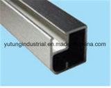 T ranura de extrusión de aluminio T Ranura proceso de extrusión de tubos de extrusión