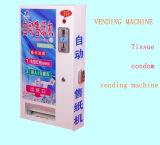 Горячей торговый автомат ткани сбывания миниой управляемый монеткой