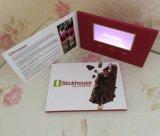 Поздравительная открытка LCD изготовленный на заказ брошюры приглашения цены по прейскуранту завода-изготовителя видео- видео-