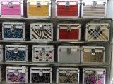 専門の小さいアルミニウム3PCSボックス美の化粧箱キットW/Handle