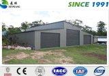Casa del envase de la estructura de acero del bajo costo