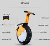 Оптовый электрический франтовской Unicycle баланса с большой фарой и удобным местом