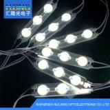Iluminación de anuncios al aire libre con lente impermeable para módulo LED