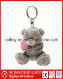 Mini brinquedo bonito de Keychain do urso da peluche do luxuoso