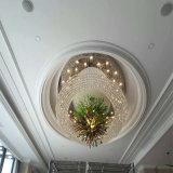 Gute Qualitätsweiße moderne dekorative Hotel-Projekt-Kristall-Leuchter