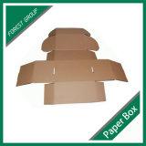Normaler Kraftpapier-einzelner geummauerter verpackenkasten (FP 8039108)