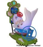 De gelukkige Machine van het Spel van de Rit van Kiddie van de Dolfijn (zj-K95)