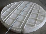 I pp hanno lavorato a maglia la rete metallica per la filtrazione e separare