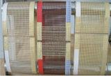 側面補強されたPTFEのテフロン上塗を施してあるガラス繊維の網のコンベヤーベルト