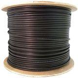 câble optique d'intérieur 12-Core Om2/extérieur de fibre Serré-Mis en mémoire tampon parJupe Simple-Blindée uni-mode