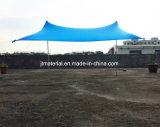 Шатер тени пляжа Lycra шатра навеса Neso шатра пляжа навеса Otentik водоустойчивый напольный эластичный с мешками песка