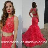 Платье вечера E17921 Tulle шнурка мантий шарика выпускного вечера партии ювелирных изделий