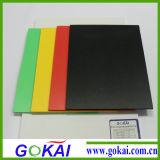 Le PVC libre de mousse du prix concurrentiel 4mm couvre le noir